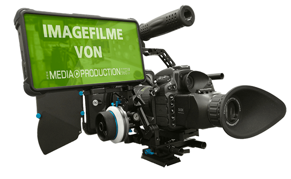Imagefilme von MEDIAPRODUCTION360 - Kamera